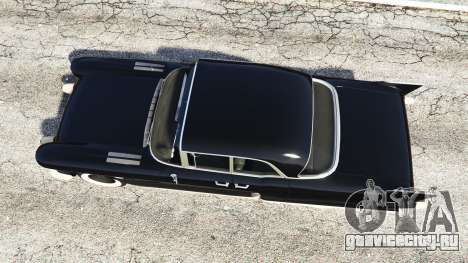 Cadillac Eldorado Brougham 1957 v1.1 для GTA 5 вид сзади