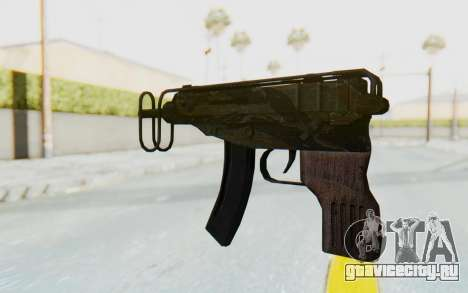 VZ-61 Skorpion Fold Stock Tiger Stripes Camo для GTA San Andreas второй скриншот