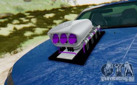 Nissan Silvia S15 Monster Truck для GTA San Andreas вид сзади