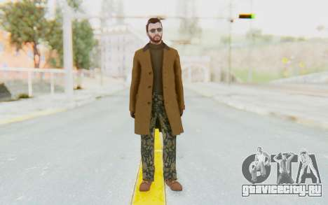 GTA 5 DLC Finance and Felony Male Skin для GTA San Andreas второй скриншот