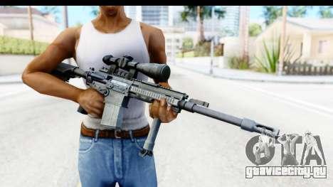CoD Ghosts - G-28 Custom для GTA San Andreas третий скриншот