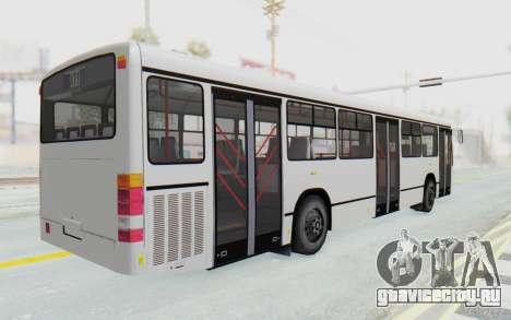 Pylife Bus для GTA San Andreas вид сзади слева