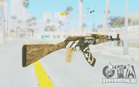 CS:GO - AK-47 Wasteland Rebel для GTA San Andreas второй скриншот