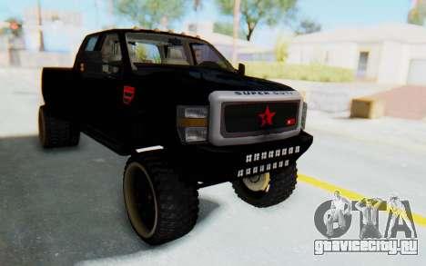 Ford Super Duty Off-Road для GTA San Andreas вид справа