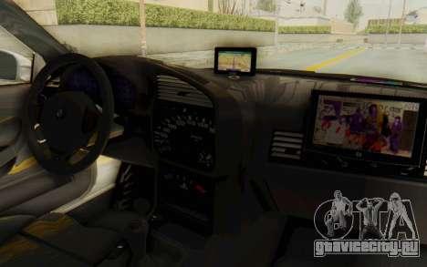 BMW M3 E36 Police Indonesia для GTA San Andreas вид сбоку