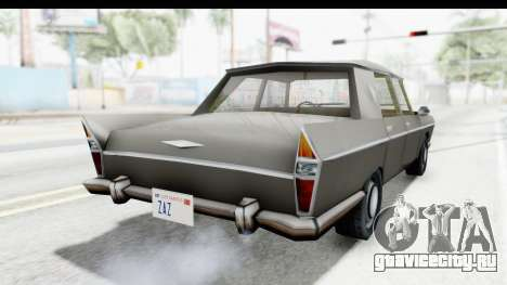 Simca Vedette from Bully для GTA San Andreas вид сзади слева