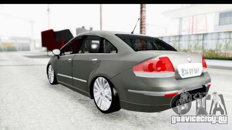 Fiat Linea 2014 для GTA San Andreas вид слева