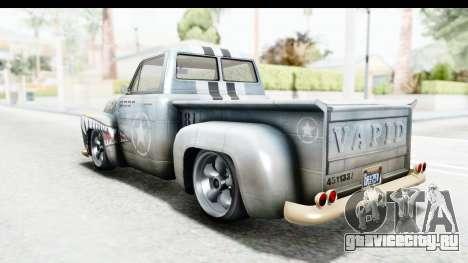 GTA 5 Vapid Slamvan without Hydro для GTA San Andreas