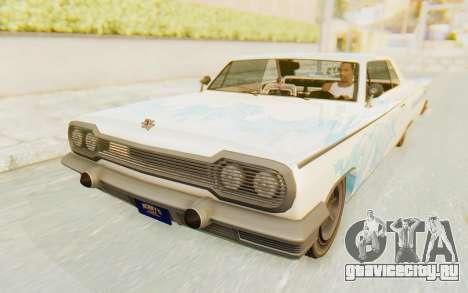 GTA 5 Declasse Voodoo Alternative v1 для GTA San Andreas двигатель