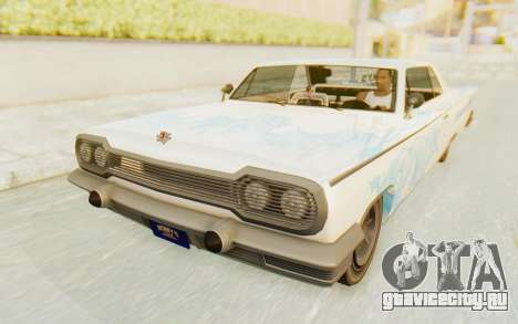 GTA 5 Declasse Voodoo SA Lights для GTA San Andreas колёса