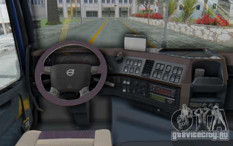 Volvo FMX 6x4 Dumper v1.0 Color для GTA San Andreas вид сзади