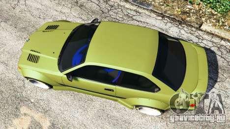 BMW M3 (E36) Street Custom v1.1 для GTA 5 вид сзади