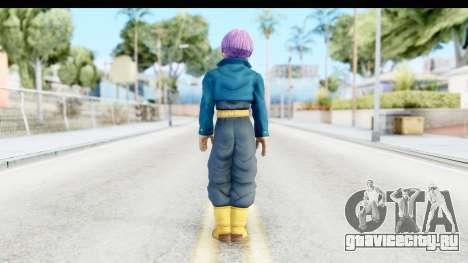 Dragon Ball Xenoverse Future Trunks SJ для GTA San Andreas третий скриншот