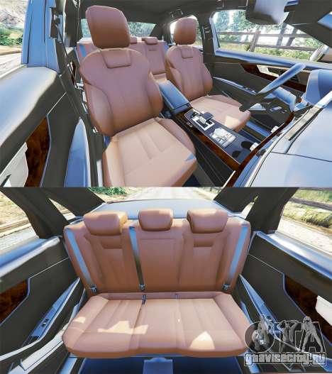 Audi A4 2017 для GTA 5 руль и приборная панель