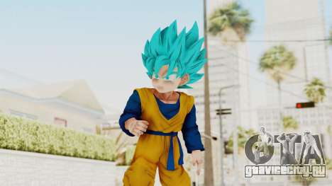 Dragon Ball Xenoverse Goten SSGSS для GTA San Andreas