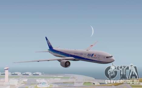 Boeing 777-300ER ZK-OKO - Smaug Livery для GTA San Andreas