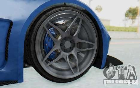 GTA 5 Vapid FMJ для GTA San Andreas вид сзади