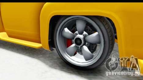 GTA 5 Vapid Slamvan without Hydro для GTA San Andreas вид сзади