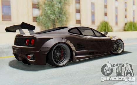 Ferrari 360 Modena Liberty Walk LB Perfomance v1 для GTA San Andreas вид слева