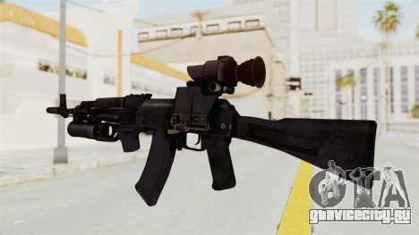 AK-74M v3 для GTA San Andreas второй скриншот