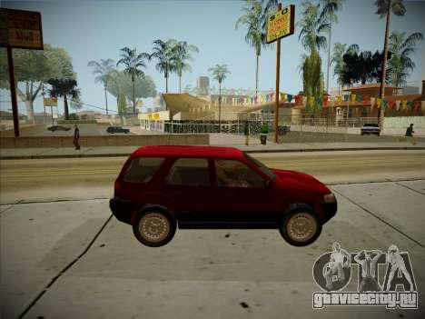 Ford Escape 2005 для GTA San Andreas вид сзади