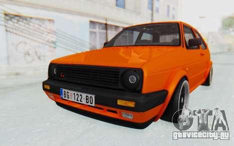 Volkswagen Golf 2 GTI 1.6V для GTA San Andreas