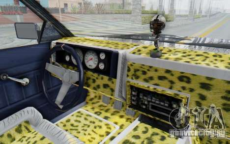 GTA 5 Willard Faction Custom Donk v1 для GTA San Andreas вид изнутри