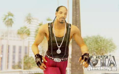 Def Jam Fight For New York - Snoop Dogg для GTA San Andreas