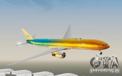 Boeing 777-300ER KLM - Royal Dutch Airlines v1 для GTA San Andreas