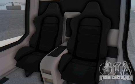 GTA 5 Buckingham Volatus v1 IVF для GTA San Andreas вид изнутри