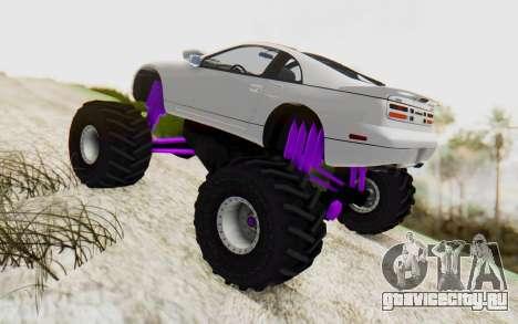 Nissan 300ZX Monster Truck для GTA San Andreas вид слева