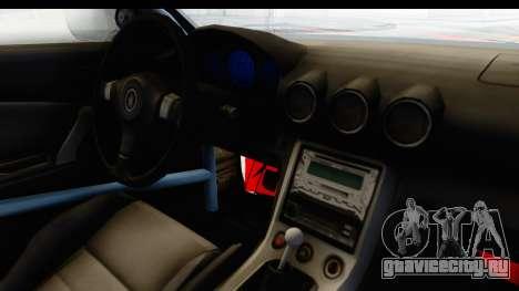 Nissan Silvia S15 Galaxy Drift v2.1 для GTA San Andreas вид сбоку