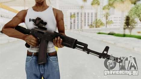 AK-74M v4 для GTA San Andreas третий скриншот