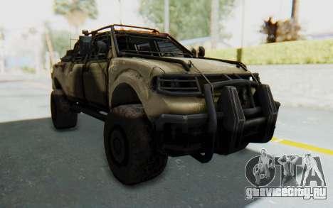 Toyota Hilux Technical Desert для GTA San Andreas вид справа