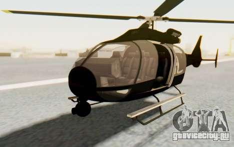 GTA 5 Maibatsu Frogger FIB для GTA San Andreas вид справа