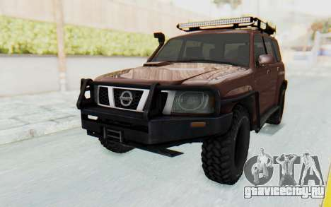 Nissan Patrol Y61 Off Road для GTA San Andreas