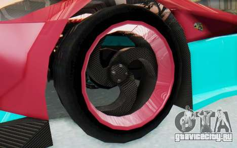 Bumblebee-R для GTA San Andreas вид сзади