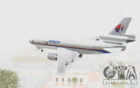 DC-10-30 Malaysia Airlines (Old Livery) для GTA San Andreas вид справа