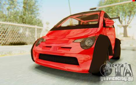 GTA 5 Benefactor Panto Custom для GTA San Andreas