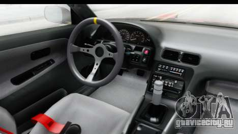 Nissan 240SX 1989 v1 для GTA San Andreas вид изнутри