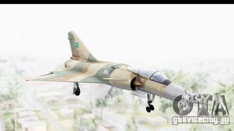 Dassault Mirage 4000 Royal Saudi Air Force для GTA San Andreas