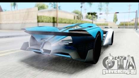 GTA 5 Grotti X80 Proto IVF для GTA San Andreas вид слева