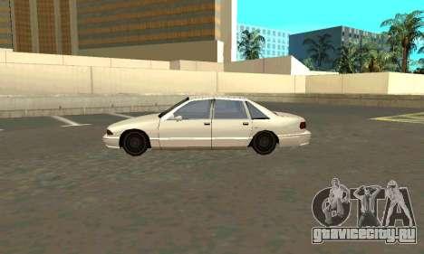 Caprice styled Premier для GTA San Andreas вид слева