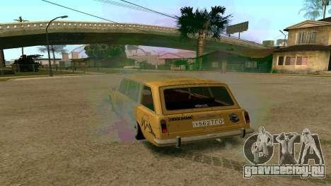 ВАЗ 2102 БК v1.0 Дрифт для GTA San Andreas вид слева