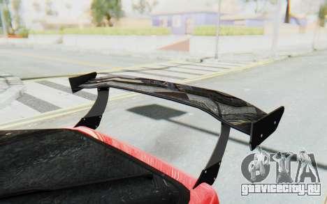 Mazda RX-7 FC3S BN Sport для GTA San Andreas вид сверху