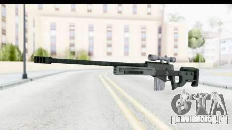 GTA 5 Shrewsbury Sniper Rifle для GTA San Andreas