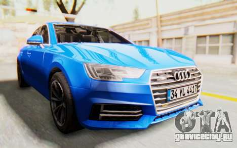 Audi A4 2017 HQLM для GTA San Andreas