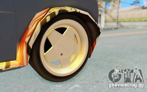 Fiat 126 для GTA San Andreas вид сзади