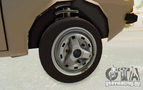 Dacia 1310 TLX для GTA San Andreas вид сзади