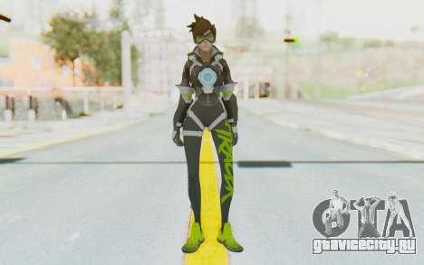 Overwatch - Tracer v5 для GTA San Andreas второй скриншот